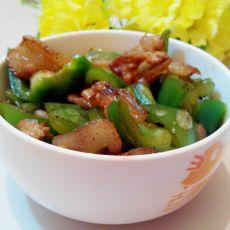 青椒回锅肉片
