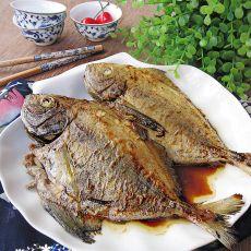 香煎黑鲳鱼