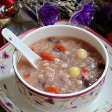 莲子薏米红豆粥