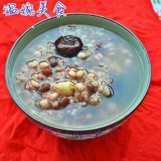 红豆薏米大米糯米粥