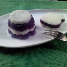 山药紫薯泥