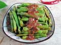 虾酱炒豇豆