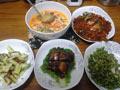 晚餐四菜汤