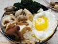 蛤蜊豆腐盖饭