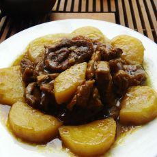 咖哩牛肉焖土豆