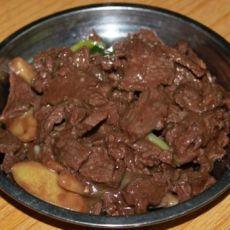 姜葱炒牛肉
