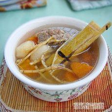 竹蔗茅根胡萝卜汤