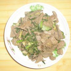 黄瓜熘猪肝