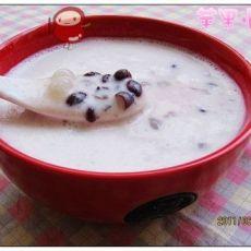 酸奶西米红豆冰饮