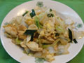 鸭蛋炒白菜