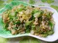 生菜鸭蛋炒饭