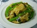 榨菜莴笋炒鸭蛋