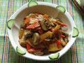 口蘑焖笋片