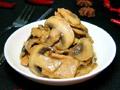 蘑菇炒肉片