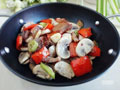 腊肉炒口蘑