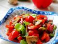 蚝油口蘑烩双椒