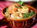 咖喱海鲜豆腐煲