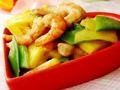 菠萝荷兰豆炒虾