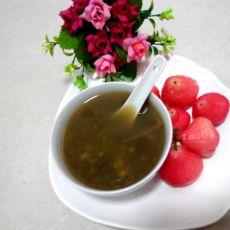 姜汁陈皮绿豆沙