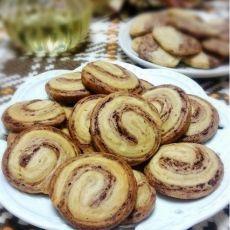 巧克力摩卡双色饼干