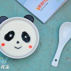 熊猫姜汁撞奶