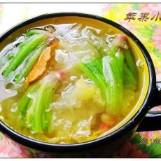菠菜银耳汤