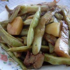 猪肉土豆炖豆角