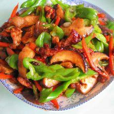 香菇青椒肉丝