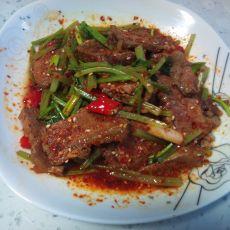 芹菜拌牛肉