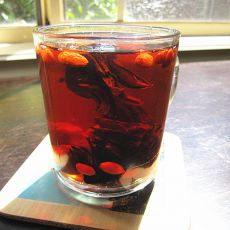 玫瑰茄果茶