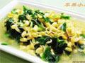 黄豆芽菠菜汤
