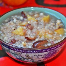 红豆薏米苹果煲