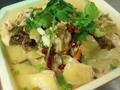 酸菜豆腐鸡