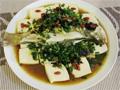 橄榄菜蒸鲈鱼