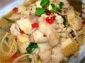 豆腐金针菇焖鱼片