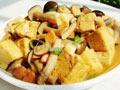 蟹味菇烧豆腐