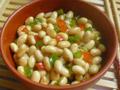 双椒拌黄豆