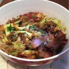 干锅培根菜花