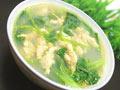 青菜豆丹汤