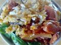 腊味蔬菜煲仔饭