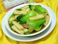 沙茶酱青菜炒年糕