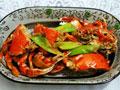 葱姜炒螃蟹