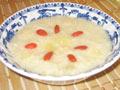 小米炖银耳雪梨粥
