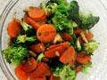 早餐蔬菜蒜蓉西兰花