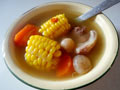 玉米红萝卜猪骨汤