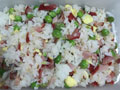 豌豆叉烧炒饭