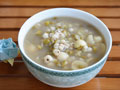 莲子薏米绿豆汤