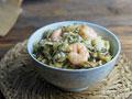 虾仁酸菜糯米饭