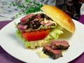 千岛牛肉汉堡