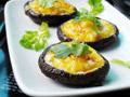 奶酪鹌鹑蛋烤香菇